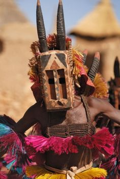 Dogon Animal Mask Dance #Africa, #pinsland, https://apps.facebook.com/yangutu