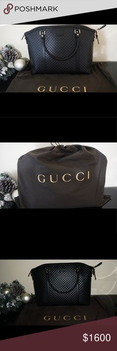 Brand NEW, with tags Classic GUCCI purse. Brand NEW, with tags Classic GUCCI purse. Black GG logo leather. Has shoulder strap included. Comes with dust bag. Never been used. Don't miss out on this gem! Message me if you have any questions :) Gucci Bags Shoulder Bags