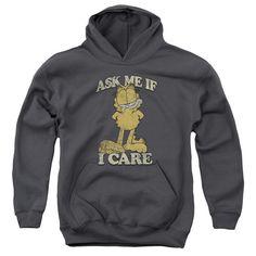 Garfield: Ask Me Youth Hoodie