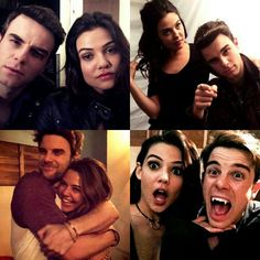 the gorgeous Danielle Campbell and Nate Buzolic