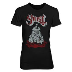 ELIZABETH REMIXED WOMENS TEE http://shop.ghost-official.com/collections/apparel/products/elizabeth-remixed-womens-tee
