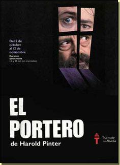 El portero de Harold Pinter .  Teatro contemporaneo
