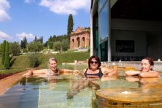 Overlooking the Tuscan hillsides, we sink into the warmth of the thermal springs. On this year's September trip I couldn't wait for Spa Day. And here we are. We dip in. We soak. We swim. One thing I love about these trips is planning all the details, andthis dayis the most nurturing one of all. …