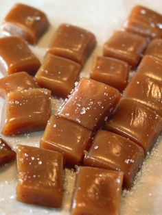 Here's another wonderfully easy candy recipe for the holidays - salt caramels! Here's the recipe, along with links to great ideas for pretty wrapping and packaging.