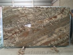 Netuno Bordeaux Granite Slabs from Brazil-232897 - StoneContact.com