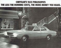 1976 Chrysler CL Valiant Taxi