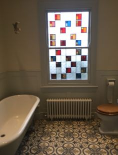A beautiful bathroom and some tips on grouting in the new Alhambra Blog: