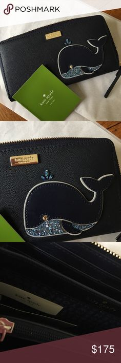Great gift 🐳🐳🐳⚓️⚓️⚓️ New with tags kate spade Bags Wallets