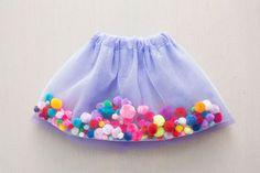 How to Make a Pom-Pom Tutu for Your Little Princess via Brit + Co