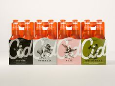 New Logo, Identity, and Packaging for Cidrerie Milton by lg2