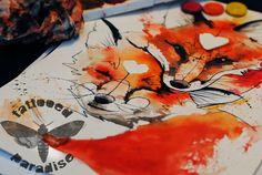 foxes by dopeindulgence.deviantart.com on @deviantART