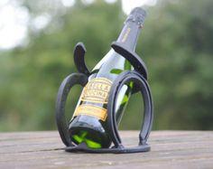 6 botella pirámide herradura botellero por WombleShoes en Etsy