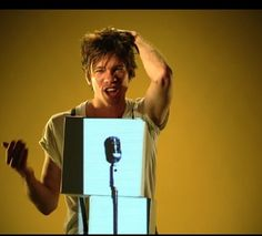 """Nate Ruess in one of my favorite music videos """"Walking the Dog"""""""