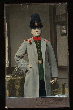Kolorierte CDV - Jäger Lauenburgisches Jäger-Bataillon Nr.9 - Ratzeburg in Sammeln & Seltenes, Militaria, 1871-1918 | eBay