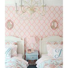1-Rabat-nursery-stencil-allover-wall-stencil-girls-room