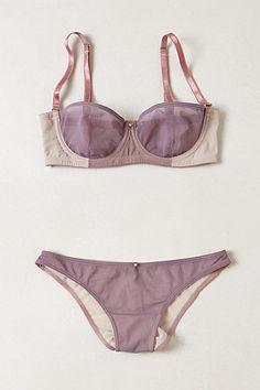 ad57ed45ba697 Violet Variation Set    via Anthropologie Beautiful Lingerie