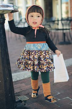 Seriously!!! This little girl style  will be like my daughters!! V