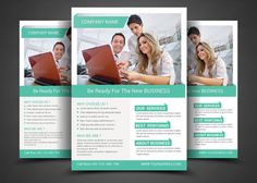 Corporate Flyer Templates by AfzaalGraphics on Creative Market