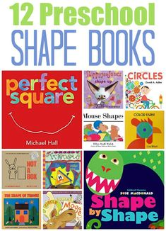 Teach your preschooler about shapes with these adorable picture books! Our favorite children's shape books for preschool that feature circles, squares, triangles and more as they explore the concept of shapes. Preschool Lessons, Fun Math, Math Activities, Preschool Activities, Toddler Book Activities, Preschool Teachers, Preschool Curriculum, Kindergarten Classroom, Toddler Books