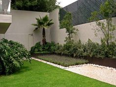 Ideas for the house on pinterest yucca plant tuin and for Jardines modernos fotos