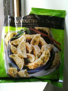 Product Review: Trader Joe's Vegetable Gyoza!