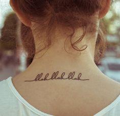 Grand tatouage éphémère personnalisé