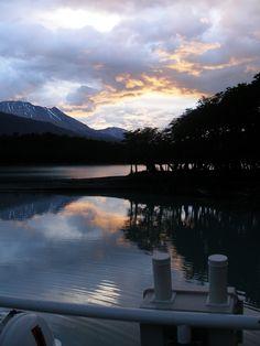 Amanecer Lago Argentino Bariloche