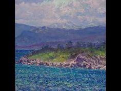 Clouds, Bekkjarvik, oil on linen, 50 x 90 cm Beautiful Islands, West Coast, Norway, Clouds, Youtube, Painting, Painting Art, Paintings, Youtubers