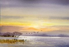 DavidBellamyArt: Painting Tranquil Scenes in Watercolour