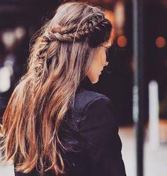 "madame shoushou (@madameshoushou) on Instagram: ""#braids making appearances_______ #mondaylook #hair #hairstyle #hairideas #girls #romance…"""