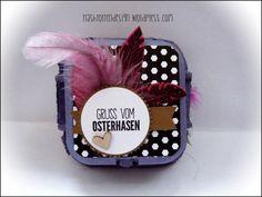 diy, Upcycling, Stampi´up, Ostern, easter, dinosaurier, Eierpappe, www.trashtortendesign.wordpress.com