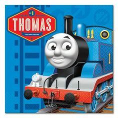 Thomas & Friends Full Steam Ahead Beverage Napkins (16 ct)