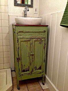 25 Marvelous Modern Farmhouse Bathroom Vanity Ideas - Page 13 of 29 Cheap Bathroom Vanities, Diy Bathroom, Cheap Bathrooms, Master Bathroom, Bathroom Small, Bathroom Ideas, Bathroom Sinks, Bathroom Furniture, Bathtub