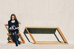 Des meubles en italique