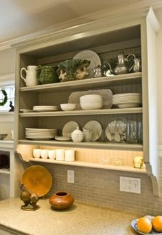 THR 005.JPG This is a great look for a dated house. Painted cabinets with trim. So easy to make. Great idea for small house