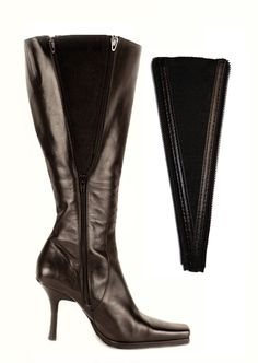 45653617e96b7 Shop Women's bootband Black size One size Shoes at a discounted price at  Poshmark. Description: Black vegan leather boot calf extender - one size.