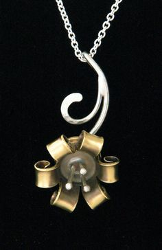 Bullet Jewelry 9mm flower by JeniBenos on Etsy, $32.00