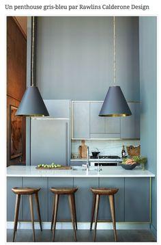 gris bleuté