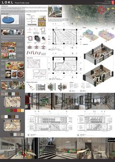 Restaurant presentation design – Famous Last Words Architecture Panel, Architecture Portfolio, Sustainable Architecture, Architecture Details, Architecture Diagrams, Presentation Board Design, Interior Design Presentation, Architecture Presentation Board, Architectural Presentation