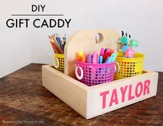 """""""C"""" is for Caddy Gift"""