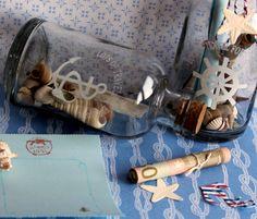 Geschenke für Männer - Flaschenpost - Geldgeschenk - ein Designerstück von FrlBetty bei DaWanda