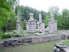 Ruins of Yuan Ming Yuan (Old Summer Palace) Beijing China Old Summer Palace, Summer Palace Beijing, Qianlong Emperor, The Concubine, Beijing China, Historical Sites, Mount Rushmore, Singapore, Garden Sculpture