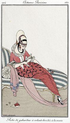 Image result for Gerda Wegener fashion drawing
