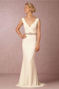 BHLDN Livia Gown in  Bride Wedding Dresses at BHLDN