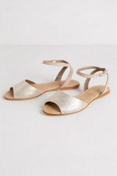 Glittery Find: Anthropologie Navin Sandals