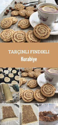 Cinnamon Hazelnut Cookies - My Delicious Food - Sandwich Recipes No Bake Desserts, Delicious Desserts, Yummy Food, Cookie Recipes, Snack Recipes, Dessert Recipes, Hazelnut Cookies, Snacks Für Party, Arabic Food