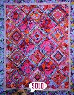 Kaffe Fassett quilt by Victoria Bannerman | Victoria Quilts (UK)