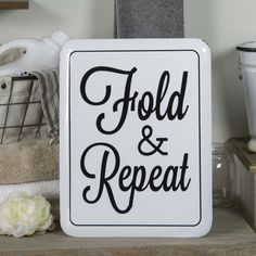 This white enamel Sign is perfect for your laundry room. The black and white design will do with any style of décor. Dimensions: 12 x x Gloss finish Sold as each White enamel Painted metal plates Decorative use only Ships in Business Days Home Theater Decor, Medallion Wall Decor, Laundry Room Signs, Antique Farmhouse, Modern Farmhouse, Aging Wood, Switch Plate Covers, Black And White Design, Farmhouse Style Decorating