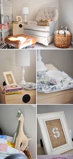 Love all of the eclectic layers and patterns.  Baby Saige and Her Sweet Nursery - @On to Baby #neutralnursery #vintage