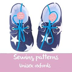 Pdf sewing patterns for children/baby shoes by KidsSewingPatterns